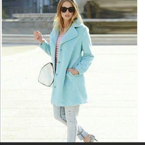 Soft Turquoise Coat
